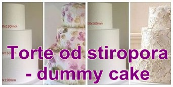 Torte od stiropora - dummy cake